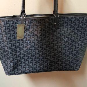Gray Goyard Style Bag